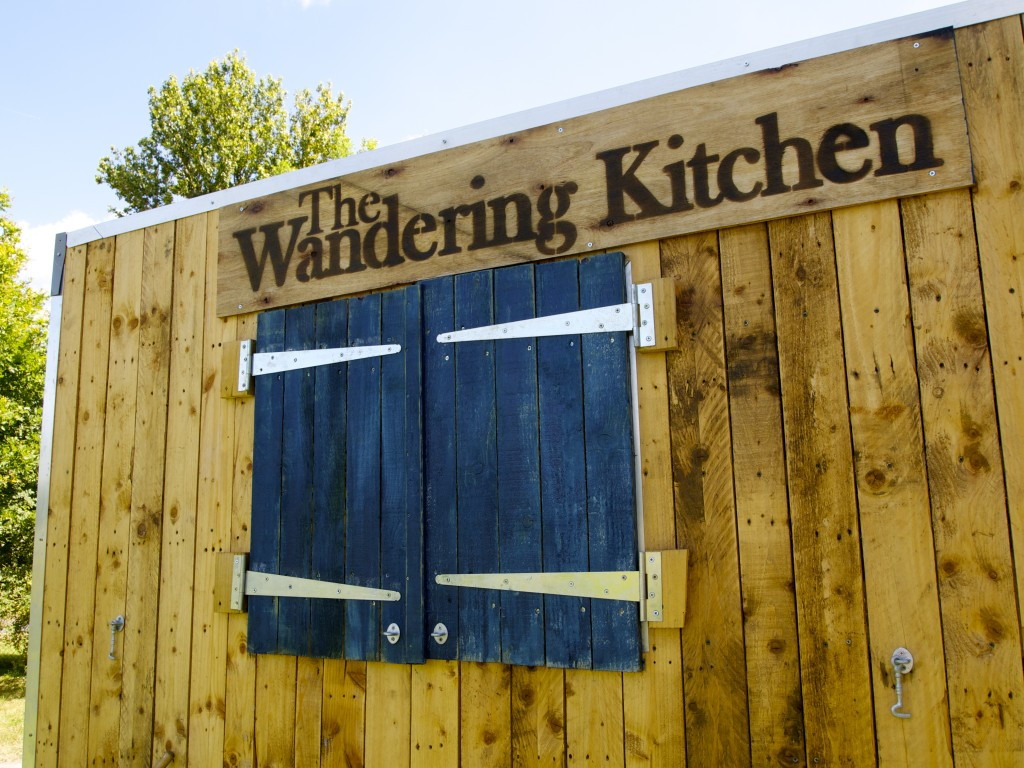 The Wandering Lodge, the trailer we built this time last year.